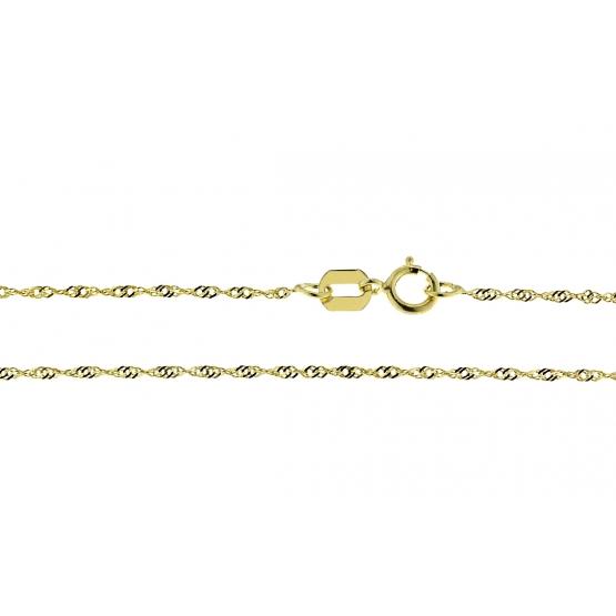 Lambáda – řetízek ze žlutého zlata