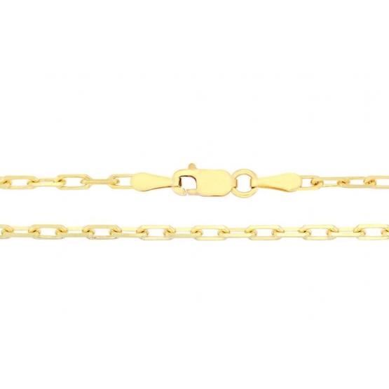 Mohutný řetízek typu anker ze žlutého zlata, přívěskový