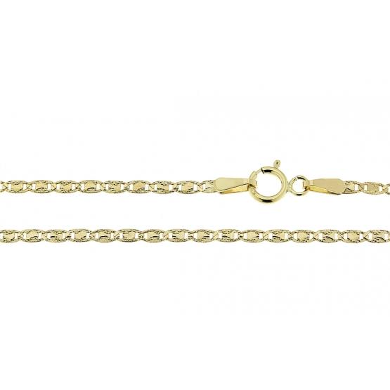 Originální řetěz ve žlutém zlatě