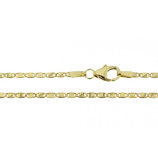 Výrazný řetízek, žluté zlato