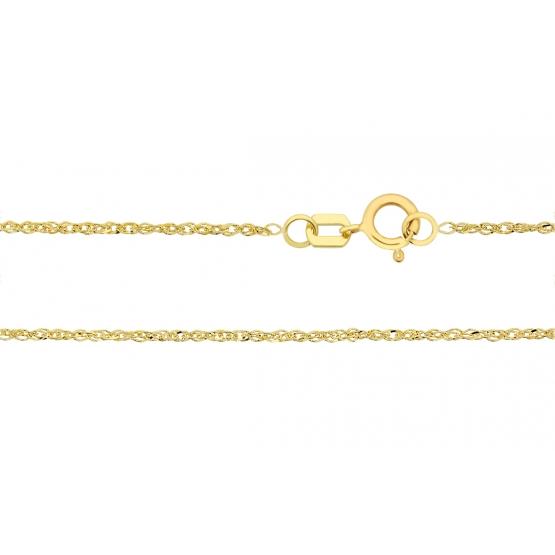 Řetízek Cheni typu lambada, žluté zlato
